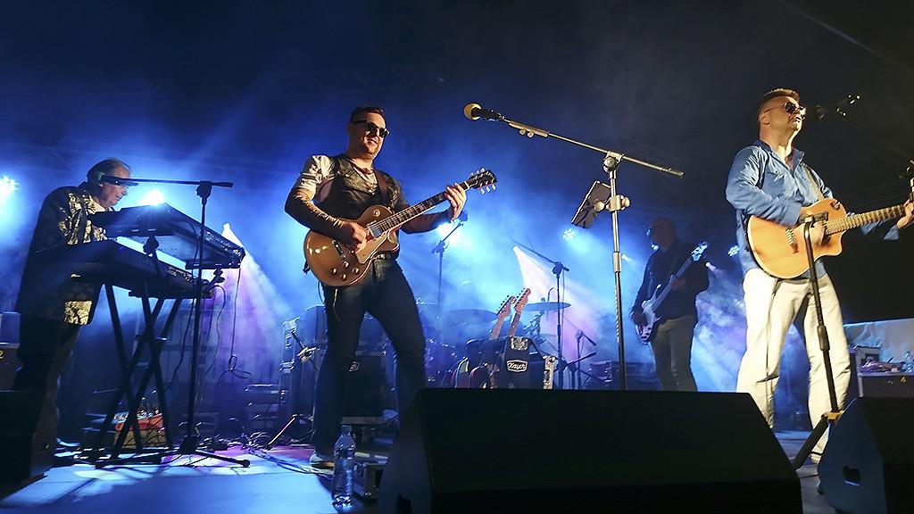 Budka Band podczas koncertu